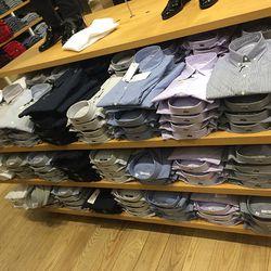 Men's dress shirts, $50