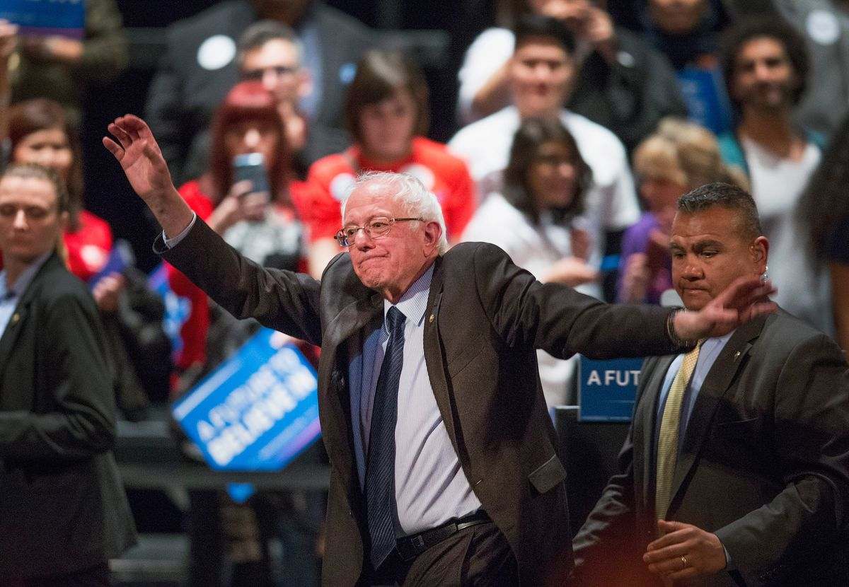 Bernie Sanders Holds Campaign Rally In Chicago Ahead Of Illinois Primary