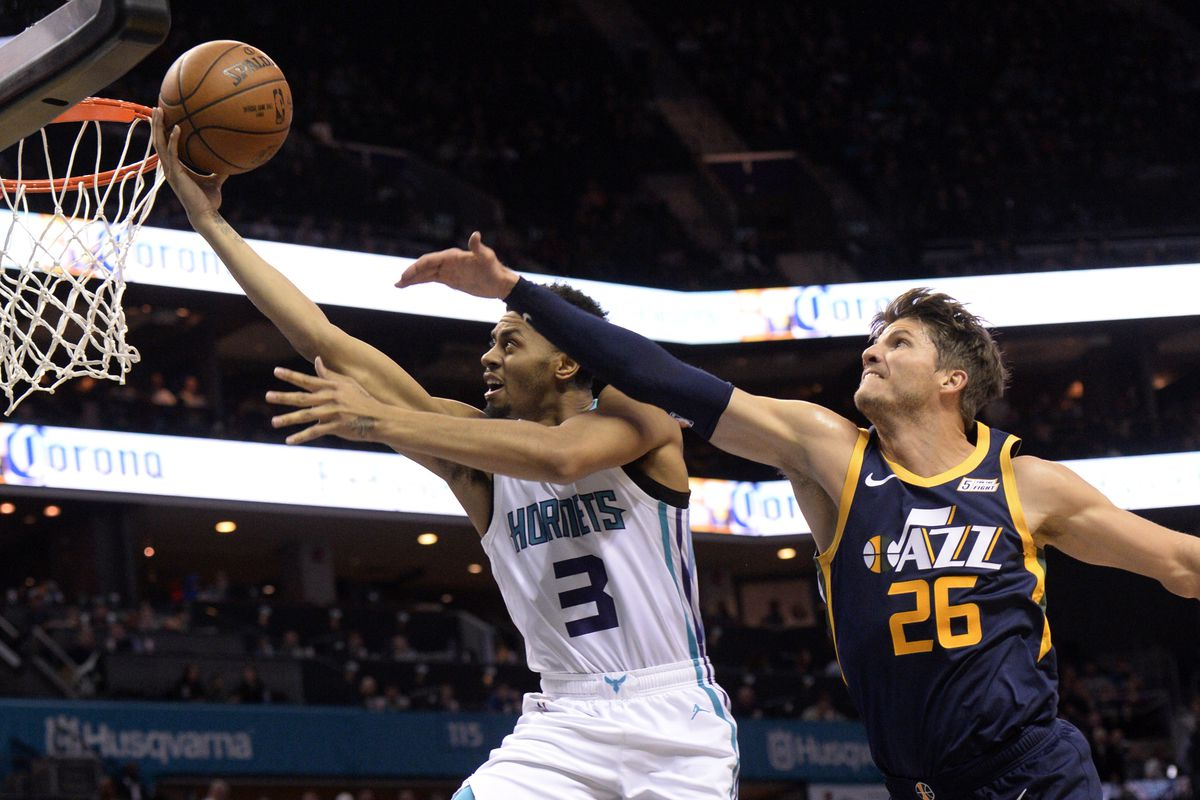 8970a7c302a Charlotte Comes Up Short at Home against Jazz