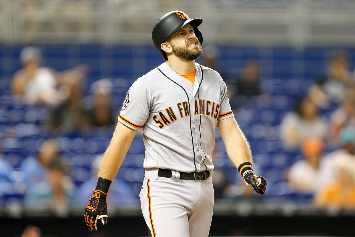 timeless design 71bfe c3eb4 What should the Giants do with Evan Longoria as he returns ...