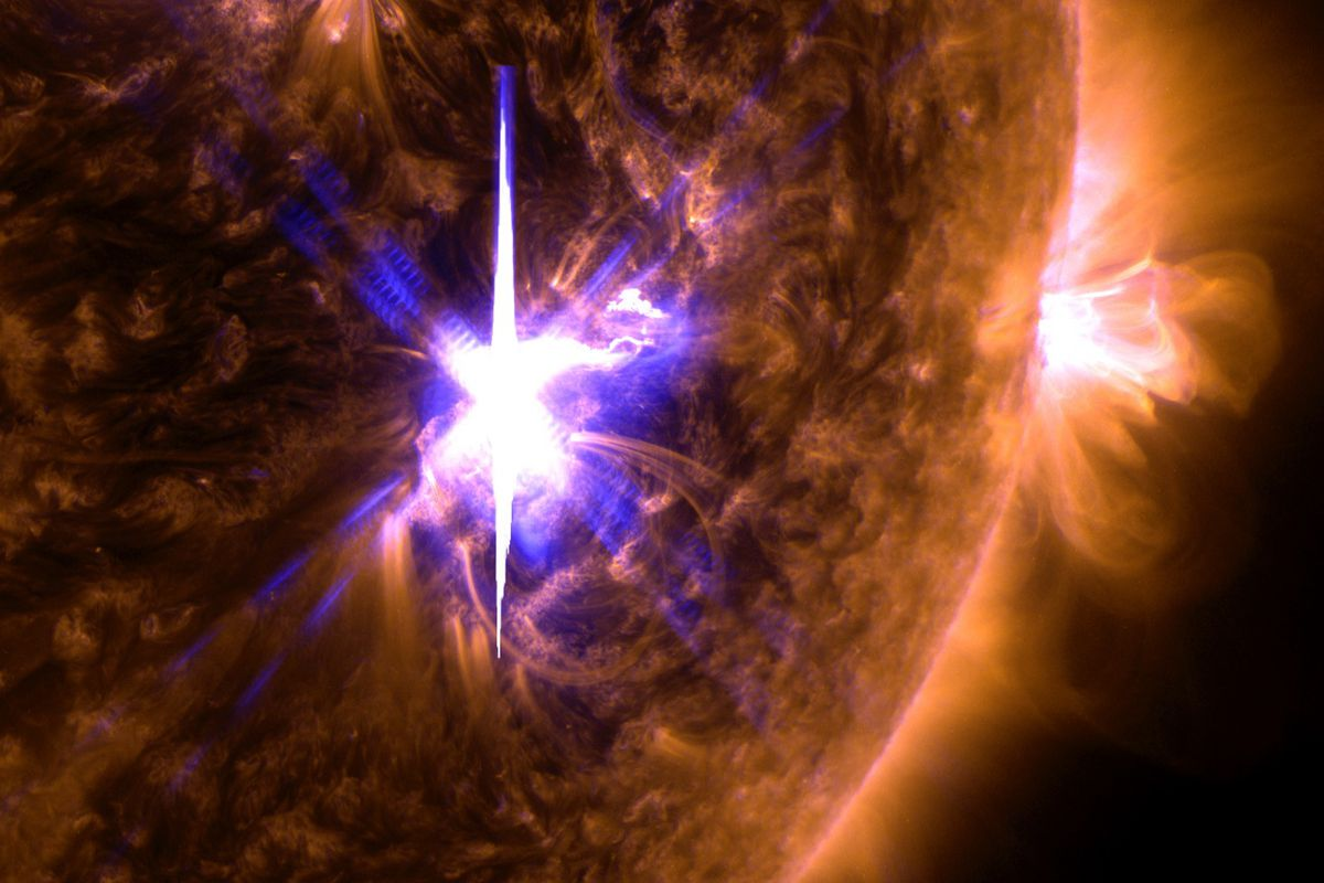 The Sun has produced a whole bunch of solar flares this week