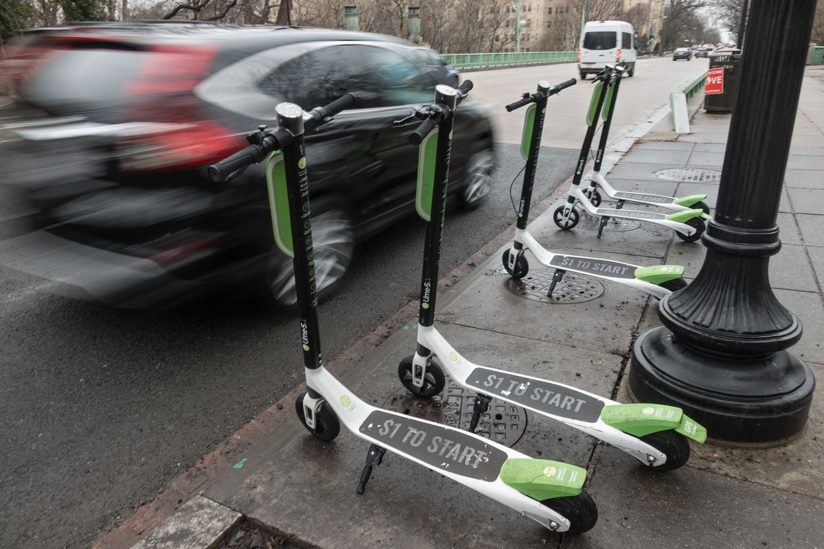 dockless scooters and bikes in d c lime goes all in on. Black Bedroom Furniture Sets. Home Design Ideas