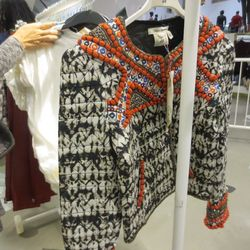 Only one beaded jacket left!