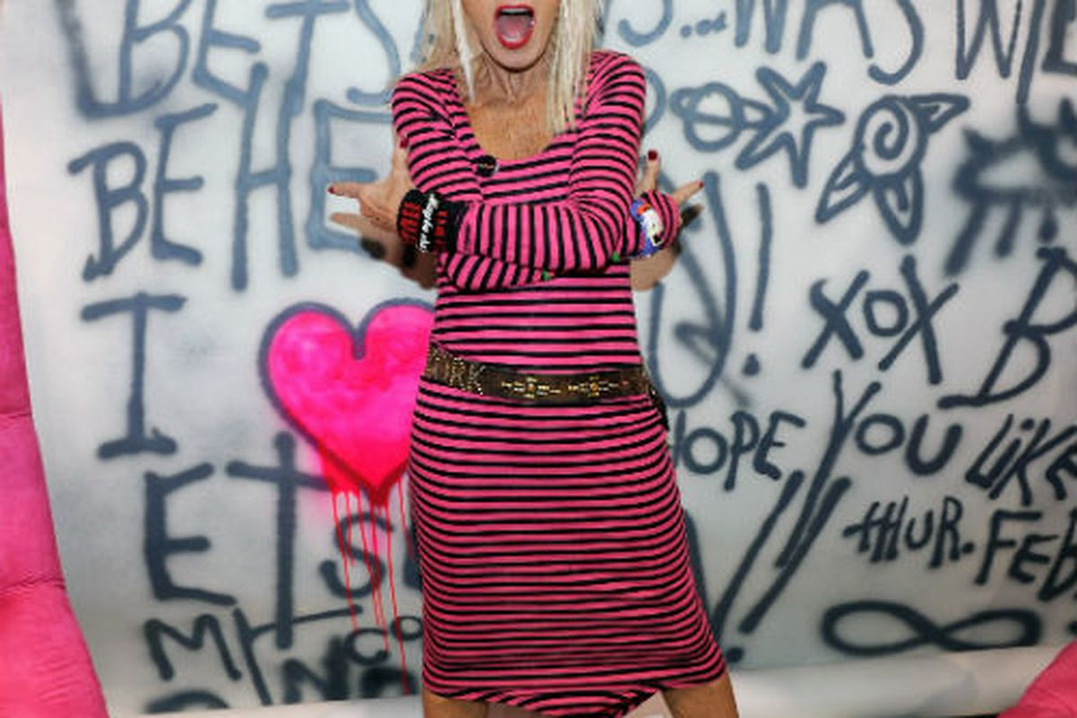 Betsey at Magic in Los Vegas. Photo via Getty Images.
