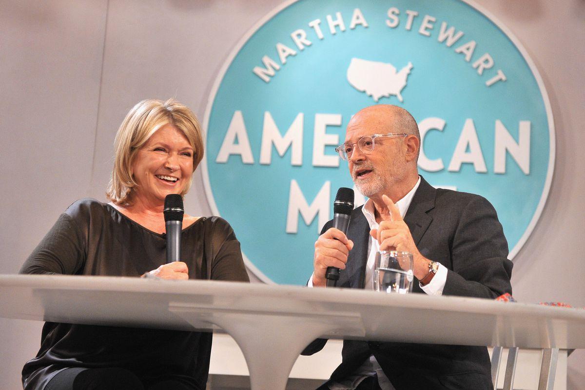 Drexler with Martha Stewart last year.