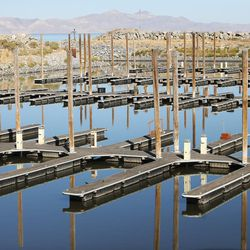 The Northwest Basin marina at the Great Salt Lake is too shallow for boats on Friday, Sept. 2, 2016. The marina was last dredged in 2008 and needs to be dredged another 5 feet.
