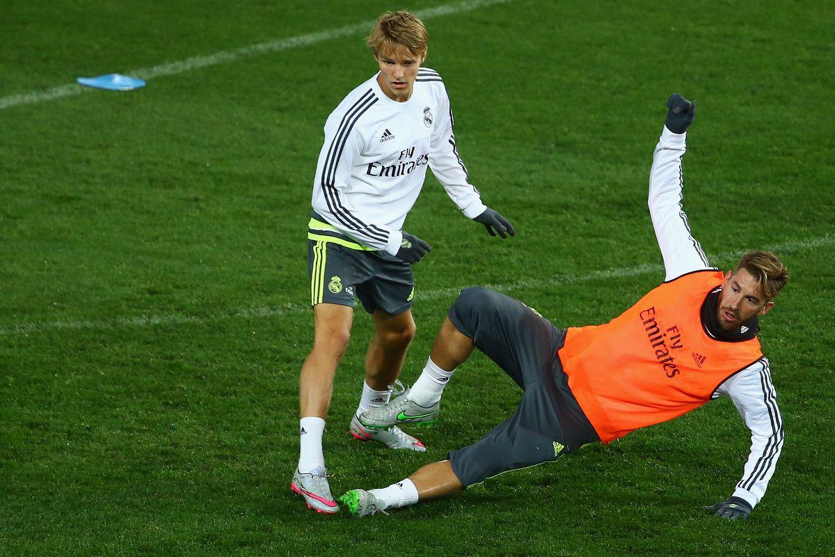 Don't tackle the PR stunt, Sergio.