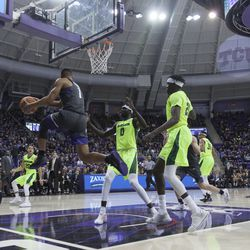 TCU Basketball vs Baylor, February 24th, 2018. Fort Worth, TX.