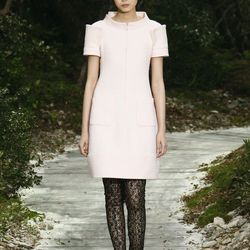 Straight, clean lines for the anti-princess gown bride. By Chanel.
