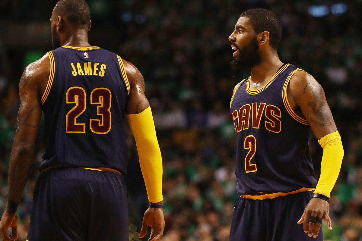 15131bd0b65 Is There a LeBron and Kyrie Conspiracy  - The Ringer