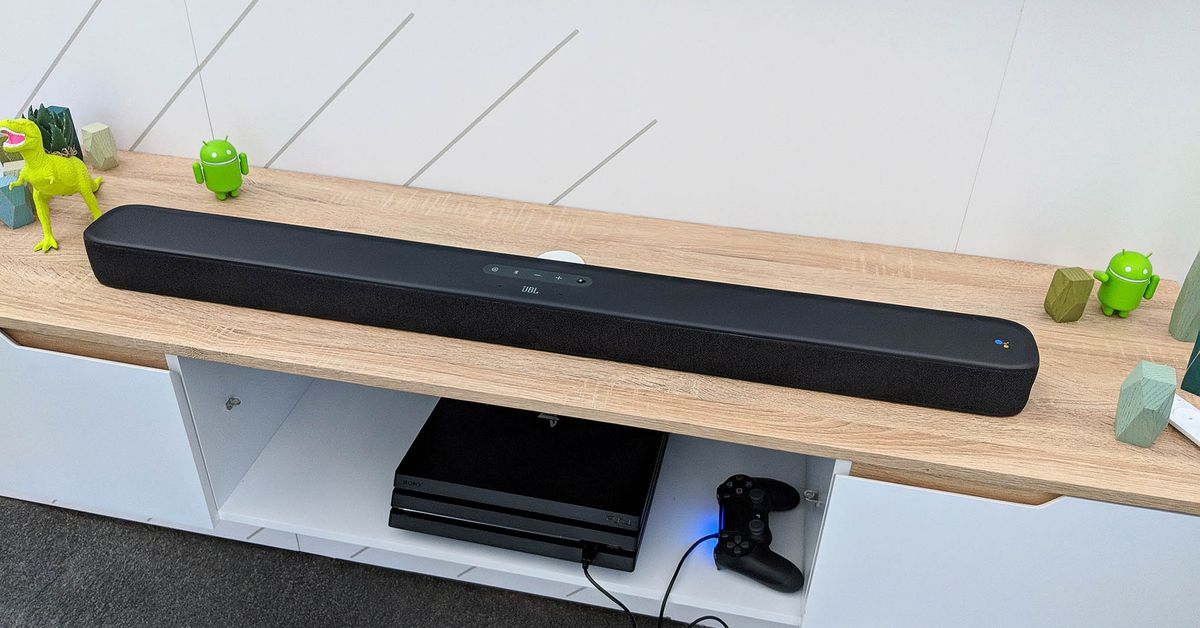 JBL's Soundbar with Built-in Android TV Keeps Getting Delayed