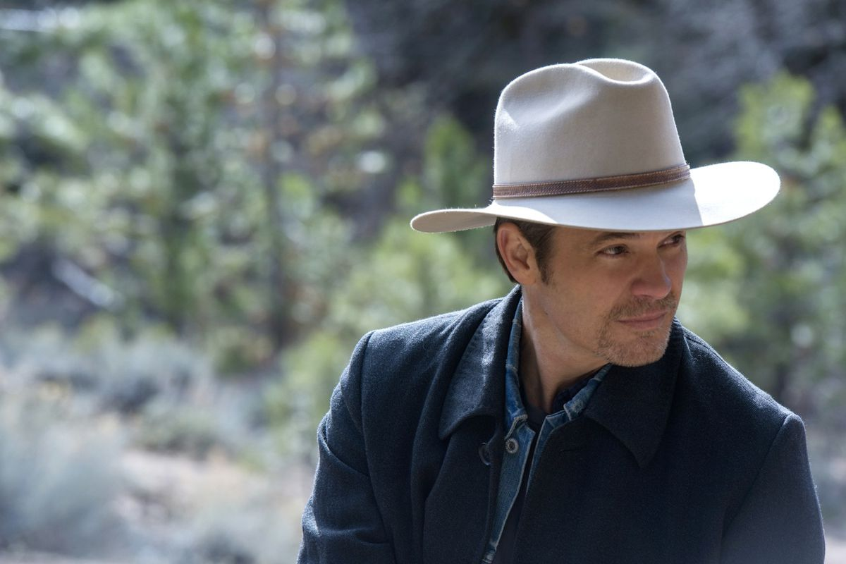 Timothy Olyphant stars as old-fashioned gunslinger Raylan Givens in the recently concluded drama Justified.