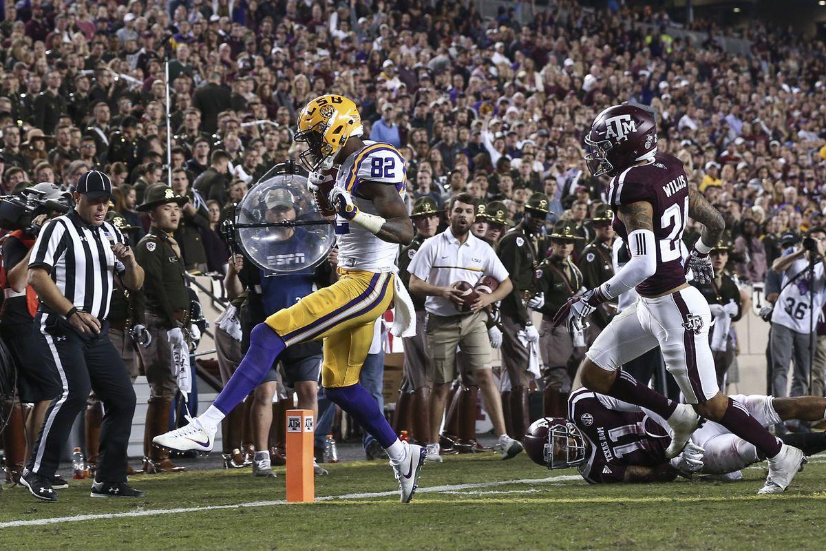NCAA Football: Louisiana State at Texas A&M