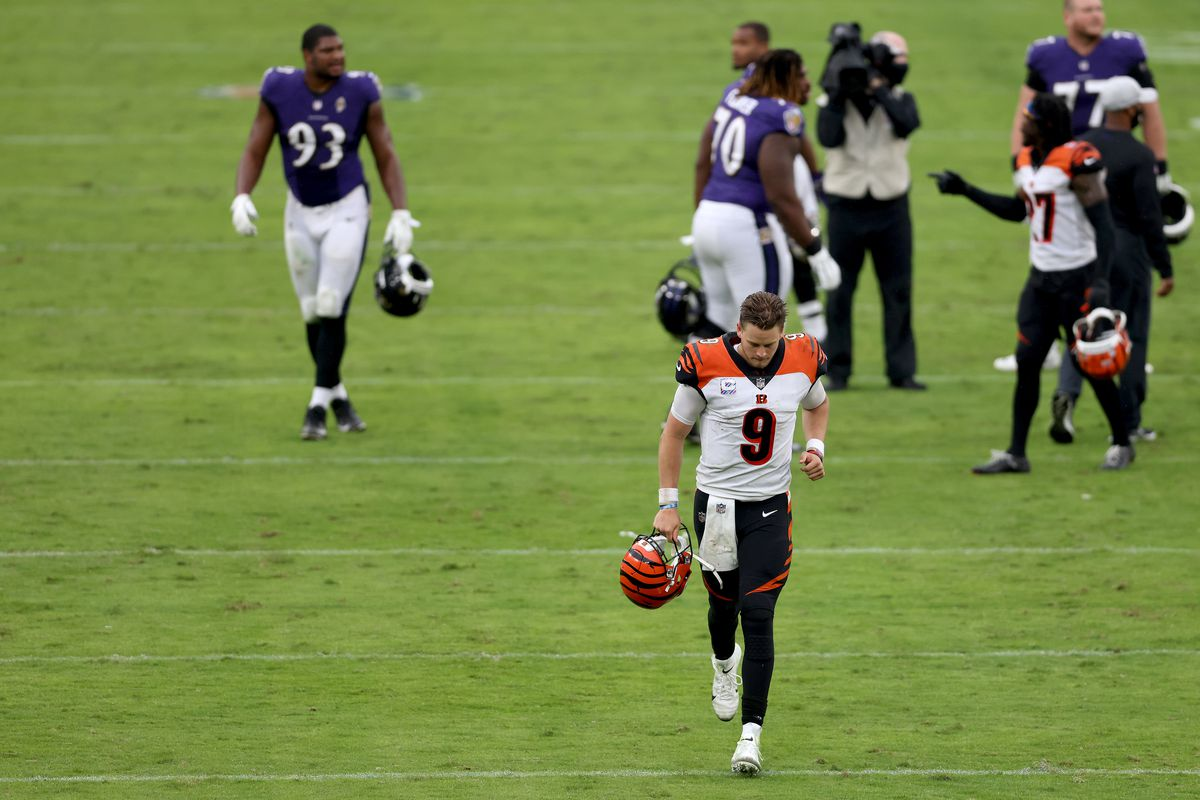 Cincinnati Bengals v Baltimore Ravens