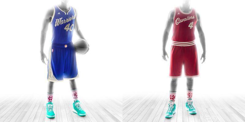 newest 611e2 3228b NBA Christmas jerseys 2015: Finally, a uniform that won't ...