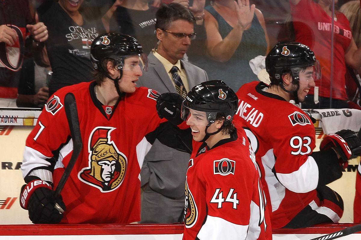 No one wants to look at Pageau's smile now.