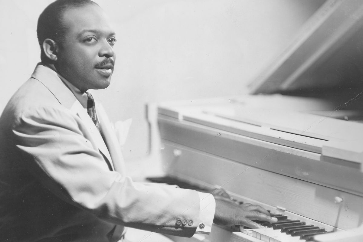 Count Basie Playing The Piano