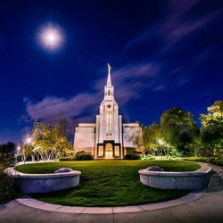 Scott Jarvie is on a mission to capture and compile pictures of every LDS temple in the United States. The Boston Massachusetts Temple is pictured here.
