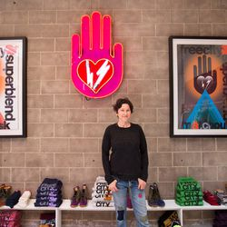 The brand's founder Nina Garduno.