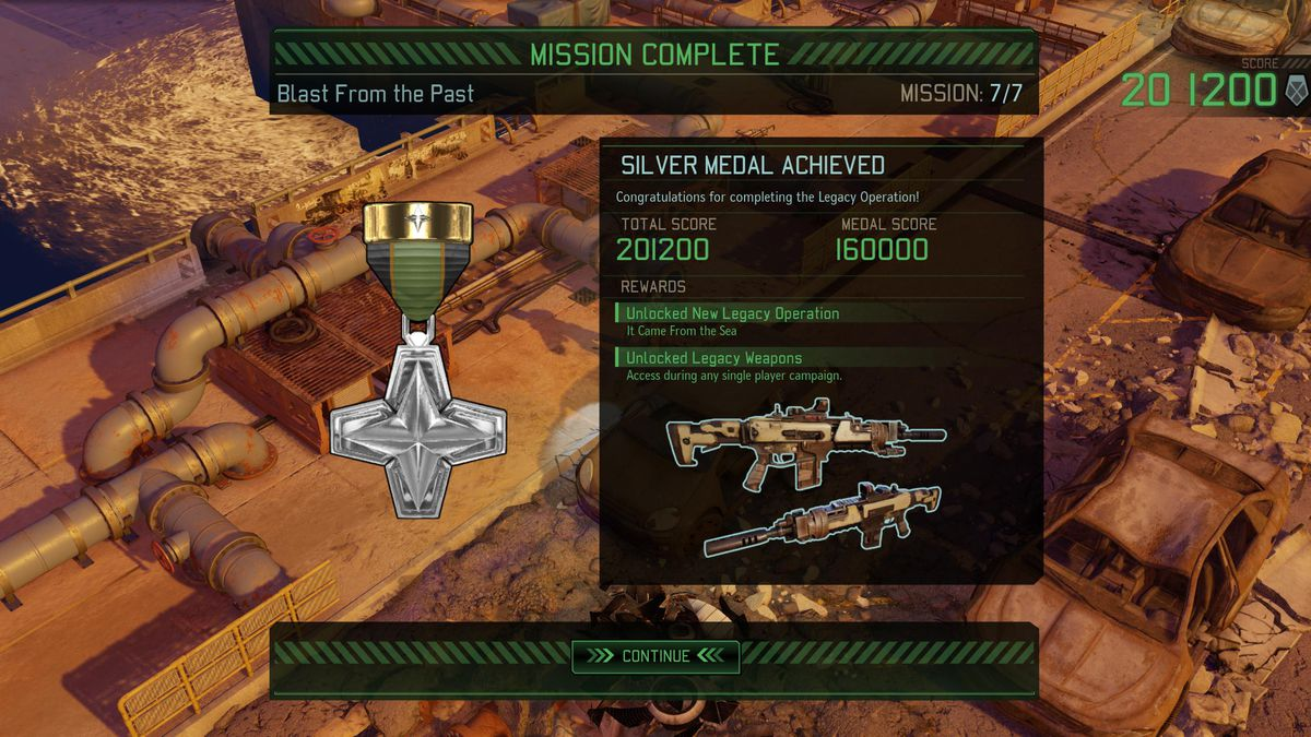 XCOM 2: War of the Chosen Tactical Legacy Pack - silver medal