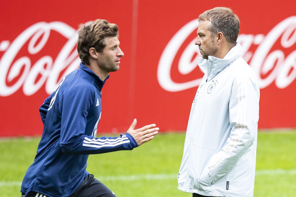 National team - Training