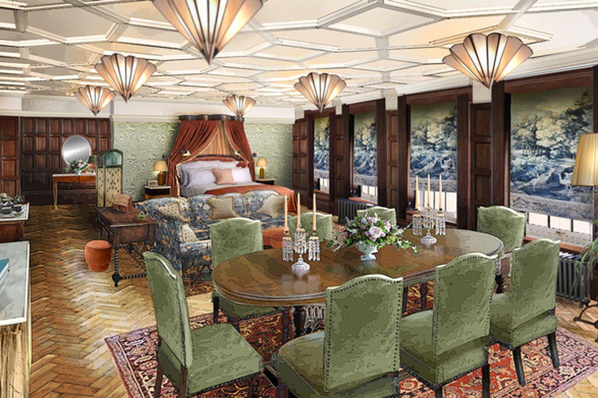 Jacobean Hotel Restaurant Menu