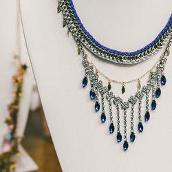 'Let It Rain' necklace, $315