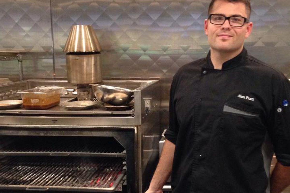 Red Heat Tavern chef Alan Frati and the Josper oven