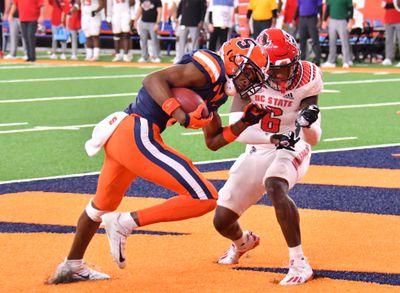 NCAA Football: North Carolina State at Syracuse