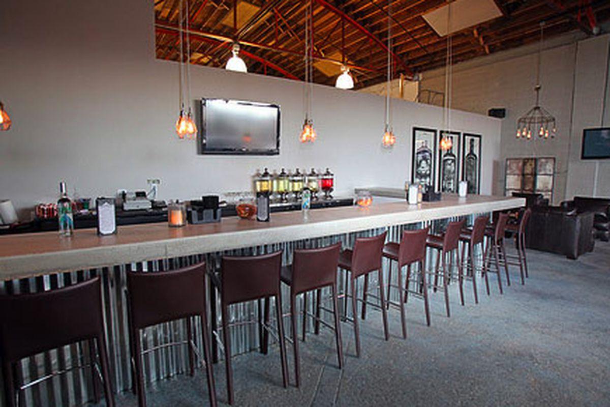 Mile High Spirits tasting room