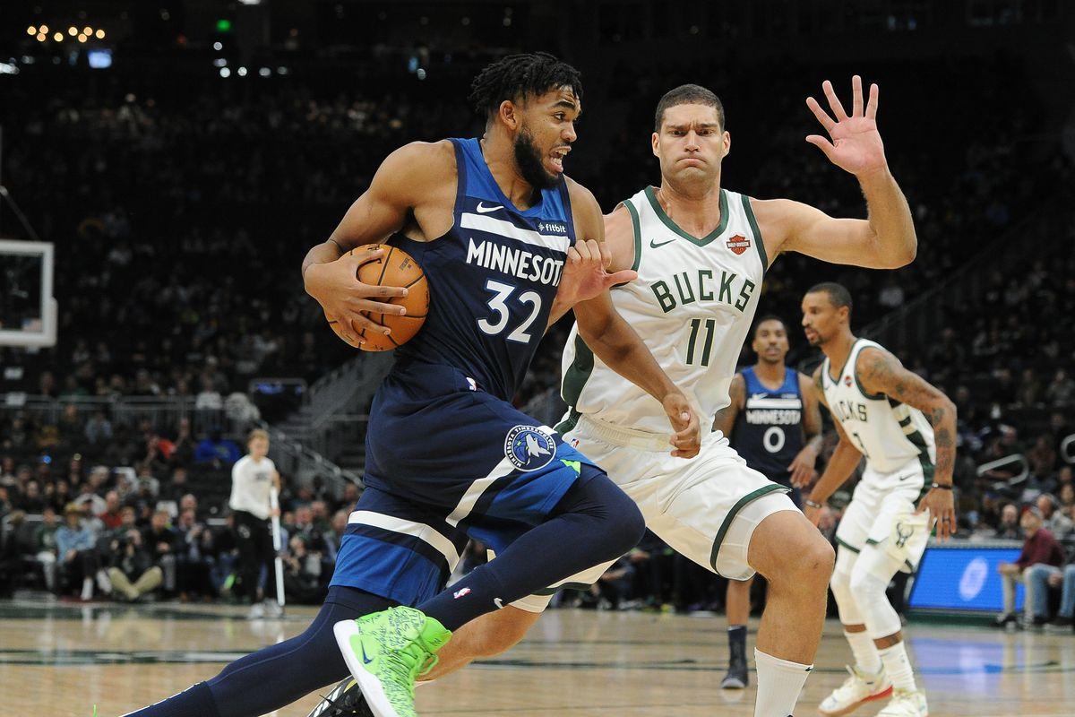 NBA: Preseason-Minnesota Timberwolves at Milwaukee Bucks