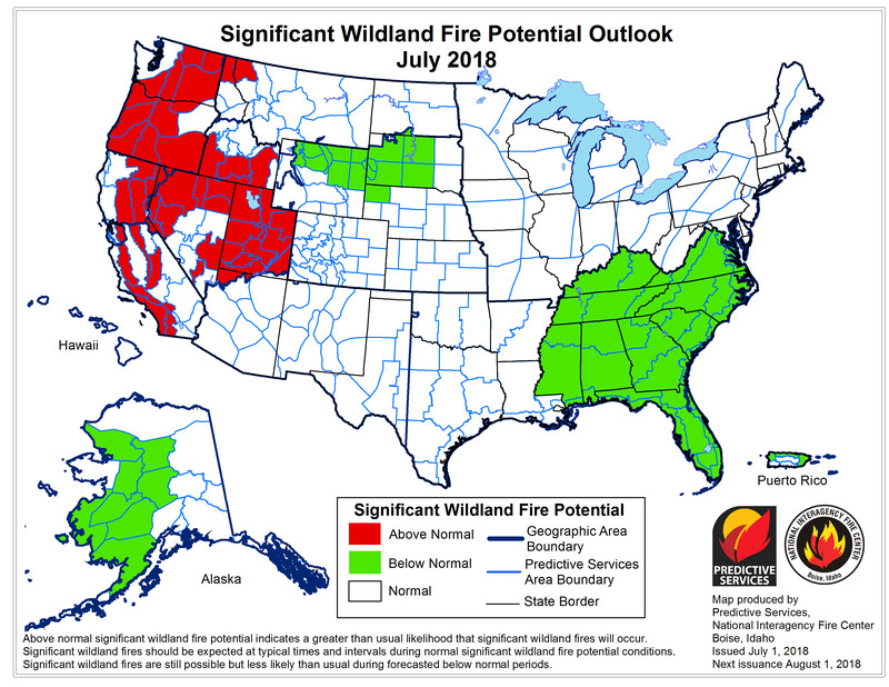 month1_outlook Huge wildfires are spreading in California, Oregon, and Colorado. They're poised to get worse.