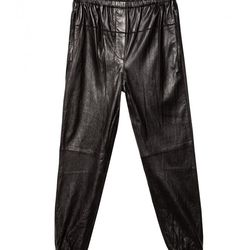 <b>3.1 Phillip Lim</b> leather elastic sweatpants, <b>$609</b> (Original price: $1,450; First markdown: $1,015)