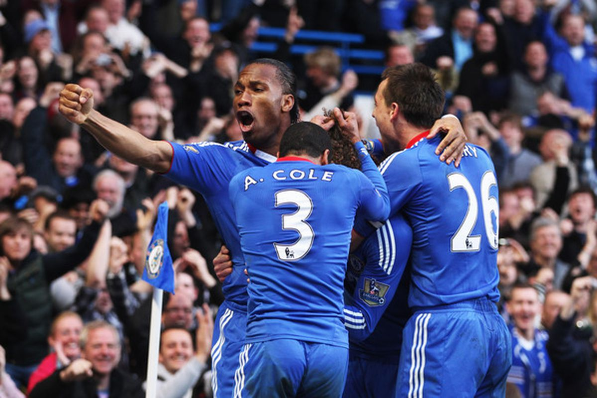 The combination of Ashley Cole's crossing for Didier Drogba headers will not be available tomorrow.