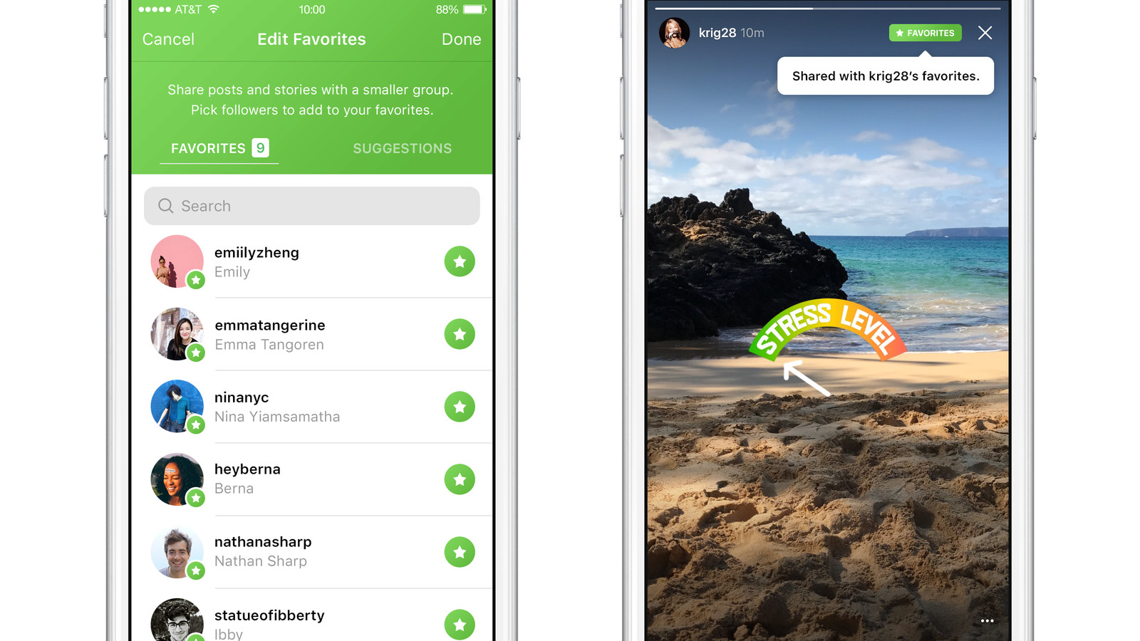 theverge.com - Instagram tests favorites, a major rethinking of private sharing