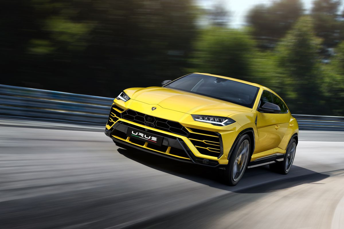 The Lamborghini Urus Is Latest 200 000 Suv