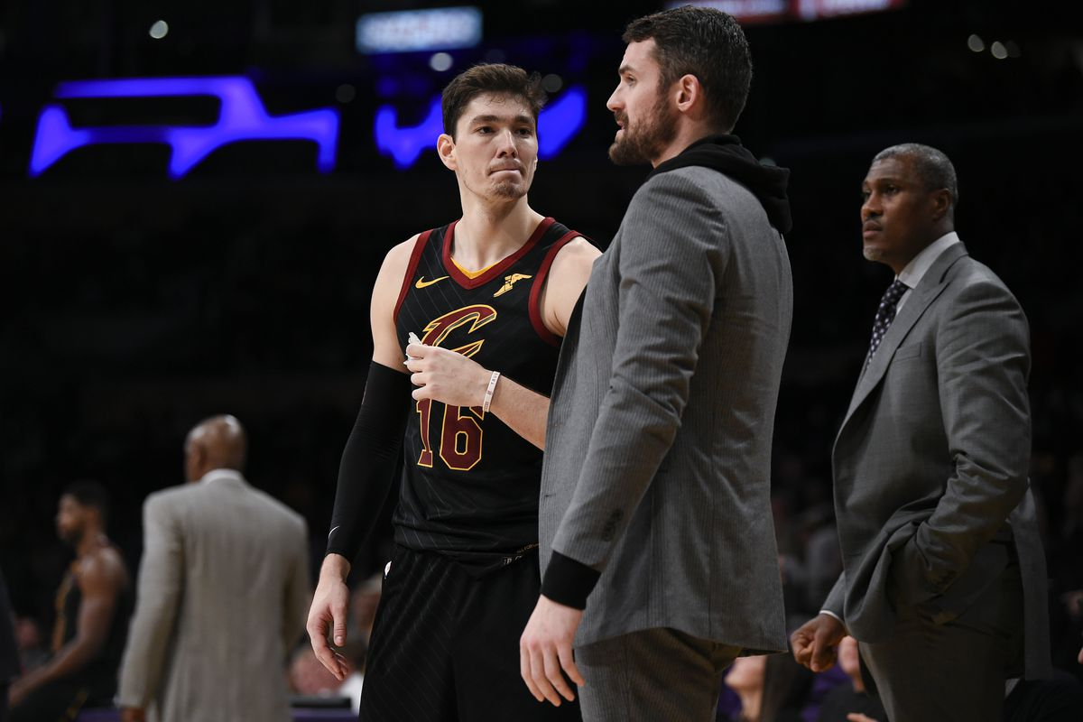 NBA: Cleveland Cavaliers at Los Angeles Lakers