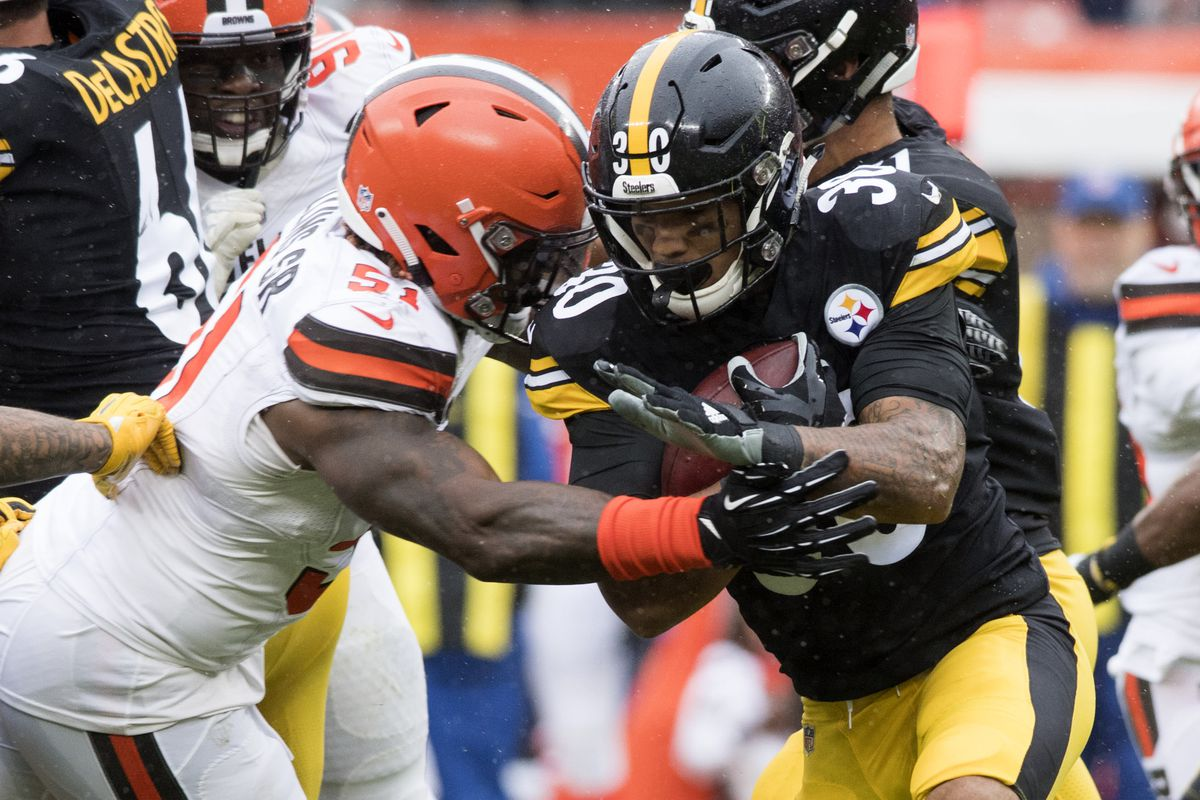 Pittsburgh Steelers Vs Cleveland Browns 3rd Quarter Game
