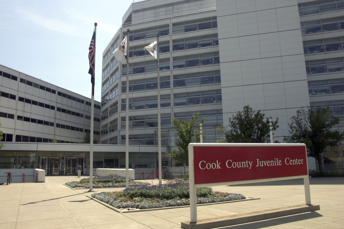 The Cook County Juvenile Temporary Detention Center in Chicago