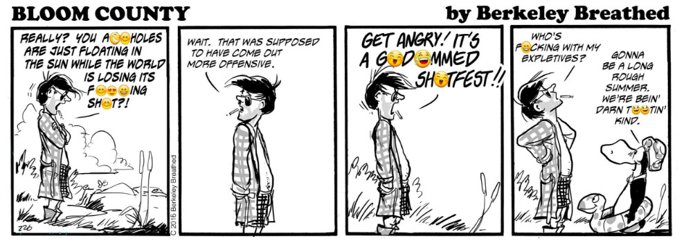 """Via 'Bloom County' <a href=""""https://www.facebook.com/berkeleybreathed/photos/pb.108793262484769.-2207520000.1468512935./1233132753384142/?type=3&amp;theater"""">Facebookpage</a>"""