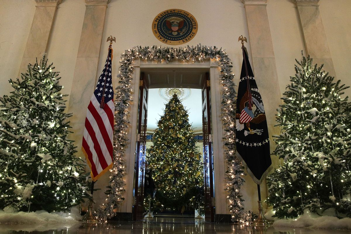 Whitehouse Christmas Decorations.White House Christmas Decorations The Best Reactions So Far