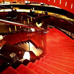 I find beauty inspiration everywhere. Now I need a lipstick shade modeled after this staircase.