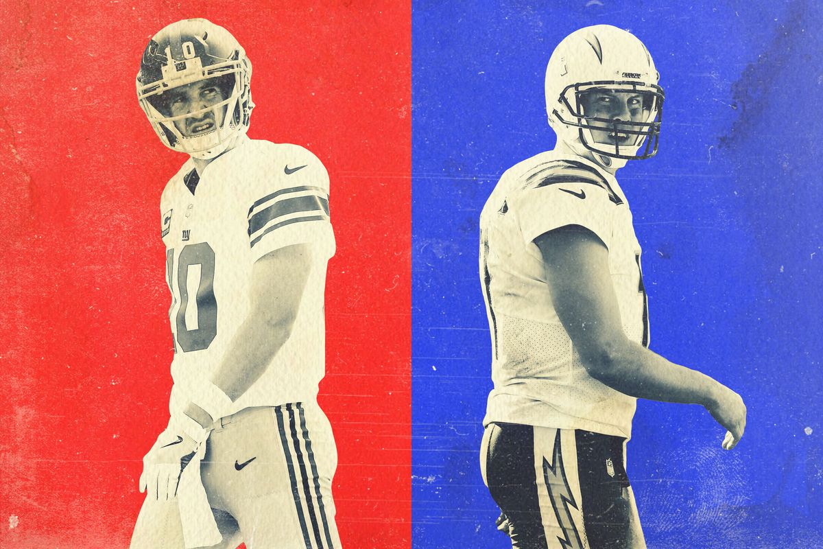 Eli Manning and Philip Rivers