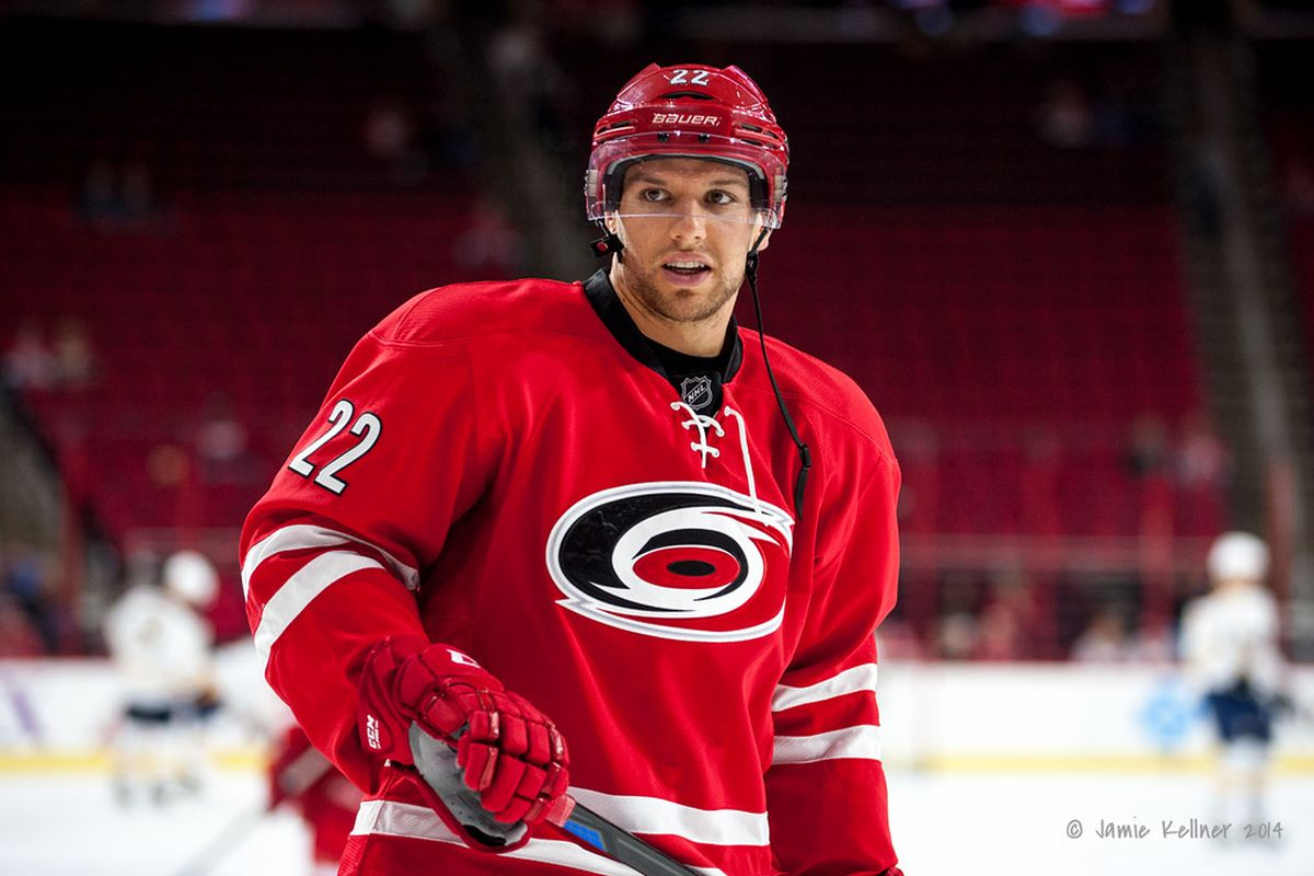 Zach Boychuk, from nearby Airdrie, AB, will play in his 100th NHL game tonight.