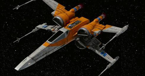 A prop X-wing from Star Wars doesn't belong in the Smithsonian