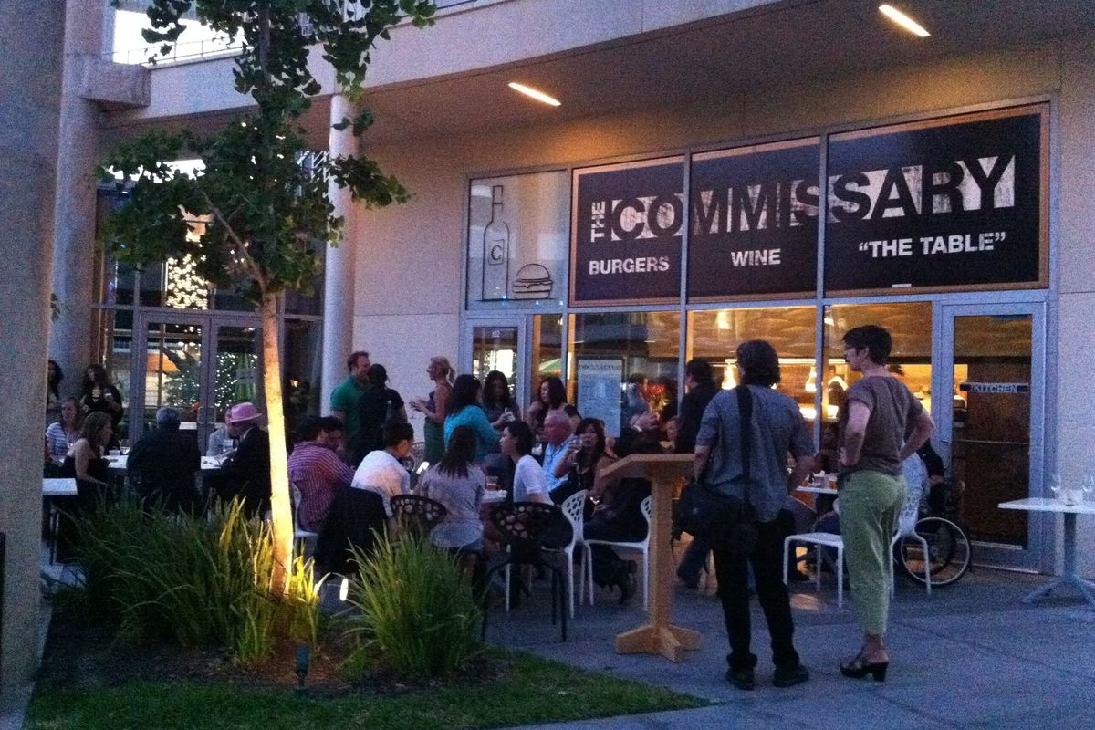 The Commissary's Arts District patio.