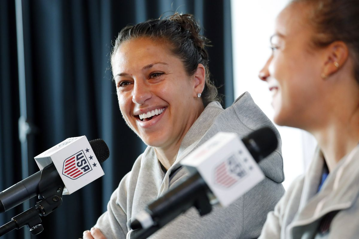 Soccer: Womens World Cup-USA Press Conference