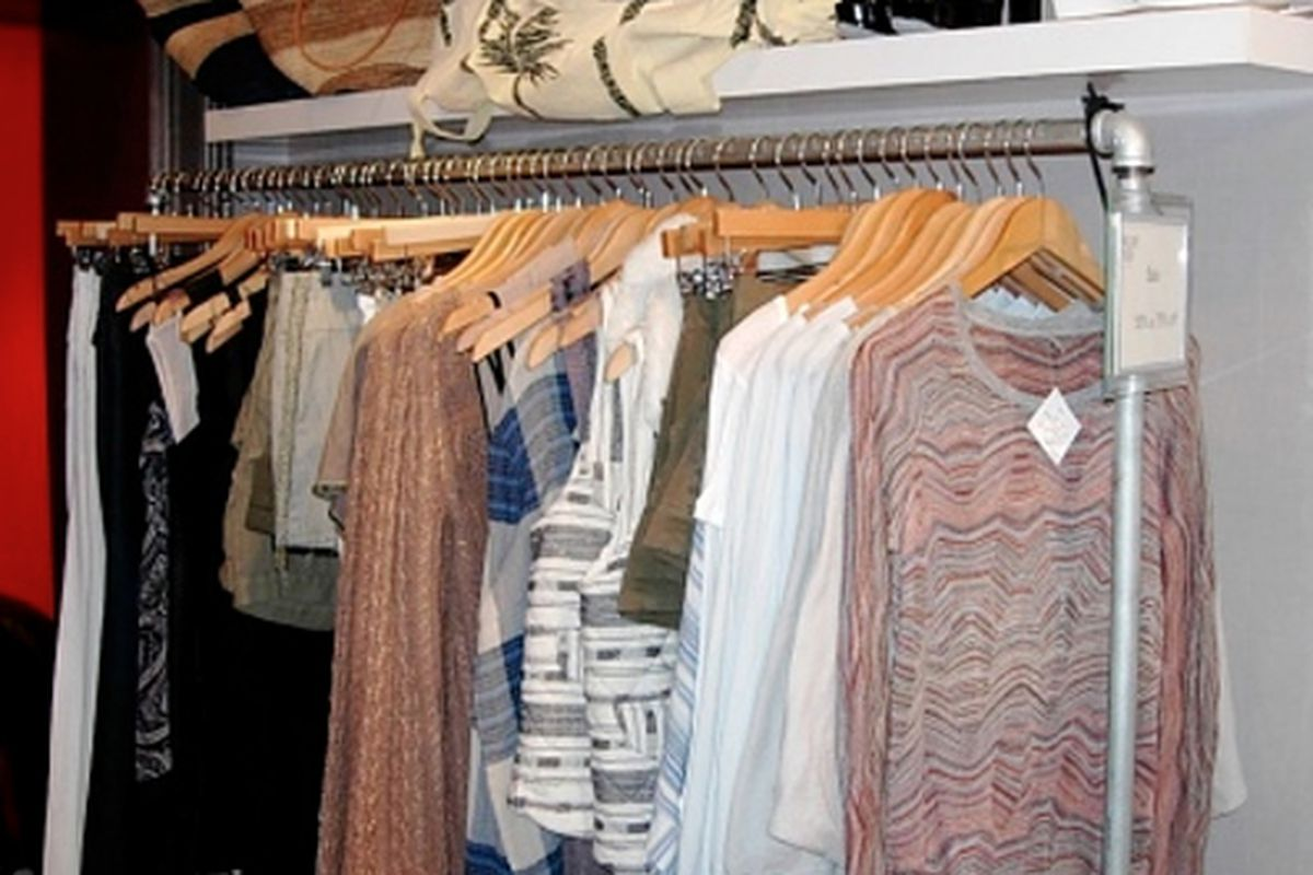 """Photo via <a href=""""http://westthirdstreetblog.com/2012/01/20/prepare-to-be-blown-away-its-the-hillary-rush-winter-blow-out-sale/"""">West 3rd Street Blog</a>"""