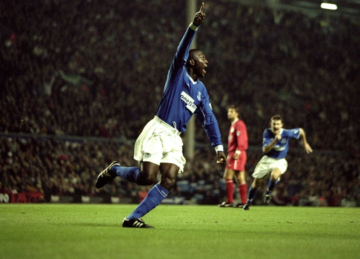 Kevin Campbell of Everton