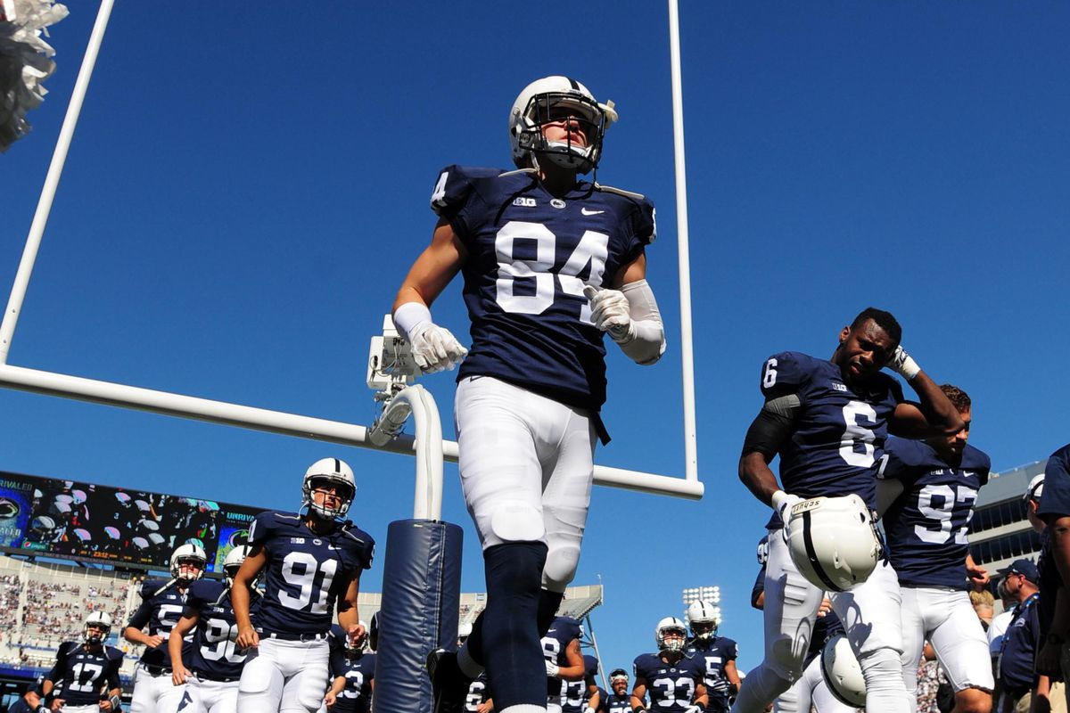 Dramatic picture. PSU-Michigan will be under the lights, however.